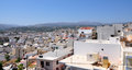 Town of sitia greece view the crete Stock Image