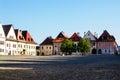 Town Square of Slovakian Bardejov.