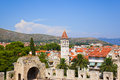 Town Trogir in Croatia Stock Image