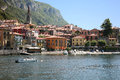 Town of Varenna in Lake Como, Italy Stock Photo