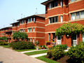Townhomes Foto de Stock Royalty Free