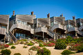 Townhomes above Dune Royalty Free Stock Photo