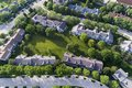 Townhouse Complex Aerial Royalty Free Stock Photo