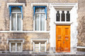 Townhouse Entrance Front Door Royalty Free Stock Photo