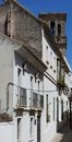 Townhouses, Arcos de la Frontera, Andalusia, Spain Stock Image