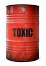 Toxic Waste Barrel Royalty Free Stock Photo