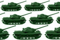 Toy Army tanks Stock Image