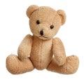 Toy bear isolated Royalty Free Stock Photo