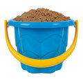 Toy bucket with sand Royalty Free Stock Photo