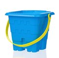 Toy bucket small isolated on white background Stock Photography