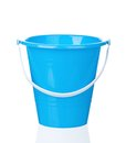 Toy bucket small isolated on white background Royalty Free Stock Photo