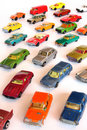 Toy cars Royalty Free Stock Image
