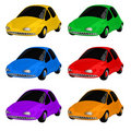 Toy Cars color Royalty Free Stock Image