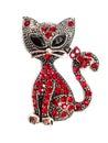 Toy cat original spanish silver Royalty Free Stock Photos