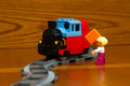 Toy color designer, train