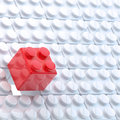 Toy construction blocks background Stock Image