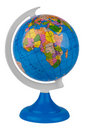 Toy globe Royalty Free Stock Photos