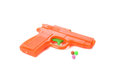 Toy gun isolated on the white background Royalty Free Stock Photo