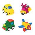 Toy illustration 1 Stock Photos