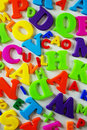 Toy Letters Royalty Free Stock Photo