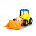 A toy loader excavator construction machinery equipment Stock Photo
