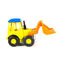 A toy loader excavator construction machinery equipment Stock Photos