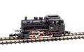 Toy locomotive train engine Royalty Free Stock Photo