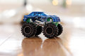 Toy monster truck this is an example of cheap dollar store toys being imported from china Stock Photos