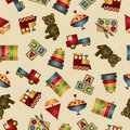 Toy pattern Royalty Free Stock Photography