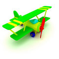 Toy plane Stock Photos