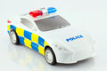 Toy police car Royalty Free Stock Photo