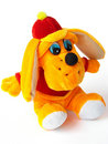 Toy puppy Stock Photo