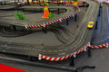 Toy race track Royalty Free Stock Photo