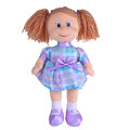 Toy rag doll isolated on white background Stock Photography