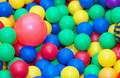 Toy rubber balls background. Royalty Free Stock Photo