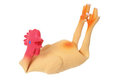 Toy Rubber Chicken Royalty Free Stock Photo