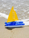 Toy Sailboat Royalty Free Stock Photo