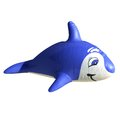 Toy shark by d rendering with white background side view Stock Photography