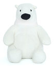Toy small polar bear Royalty Free Stock Photography