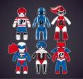 Toy superheroes