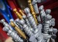 Toy swords Fotografía de archivo libre de regalías