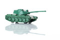 Toy tank six Royalty Free Stock Photo