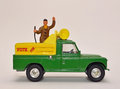 Toy Vote for Landrover Royalty Free Stock Photo