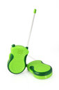 Toy walkie talkie on white background Stock Images