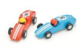 Toy wood car Royalty Free Stock Photo
