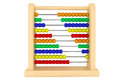 Toy wooden abacus Royalty Free Stock Images