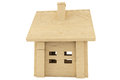 Toy wooden house Royalty Free Stock Photography