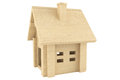 Toy wooden house Royalty Free Stock Photos