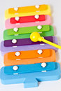 Toy xylophone Stock Photography