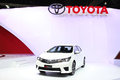 Toyota all new corolla altis esport car on display nonthaburi march at the th bangkok international motor show march in Stock Photos
